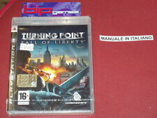 TURNING POINT FALL OF LIBERTY PS3 PLAYSTATION 3 PAL NUOVO SIGILLATO