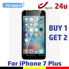 2 IN 1 Screen Protector 9H LCD Protecteur Tempered Glass Film For iPhone 7 Plus