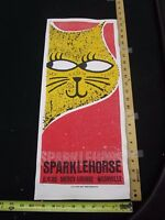 2006 Rock Roll Concert Poster Sparklehorse Print Mafia Nashville S/N #100