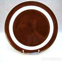 """Fitz & Floyd LA RONDE DARK BROWN Dinner Plate(s) 10 3/4"""""""