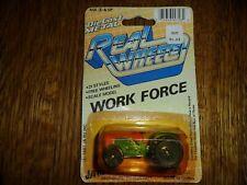 Vintage Real Wheels Die Cast Metal Work Force 1987
