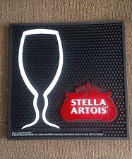 (L@@K) Stella Artois Beer glass Large Rubber Bar Mat Game room man cave new