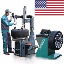 New 988 Tire Changer Wheel Changers Machine Combo LB 137 Balancer Rim Clamp