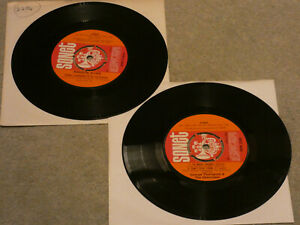 2 GEORGE AND THE THOROGOODS SONET 7 INCH SINGLES MADISON BLUES & SO MUCH TROUBLE