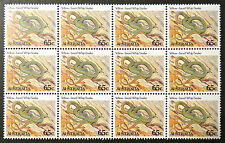Australian Decimal Stamps:1982 Aust Animals II,Reptile & Amphibians-12x65c MNH