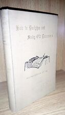 How to decipher and study old documents by E. E. Thoyts 1903