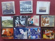 11x CD LOT EASY LISTENING Crooners +American Songbook +Viva Las Vegas +Classical