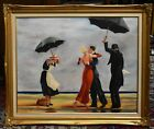 The Singing Butler OIL ON CANVAS After Jack Vettriano by Margo Young