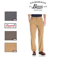 NEW! SALE! Men's G.H. BASS Canvas Terrain Pants Pant SIZE & COLOR VARIETY -I31