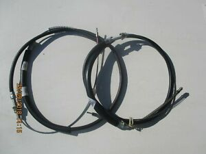BC2129 x 2 New Pair Rear  Brake Cable Peugeot 305 1985-1990