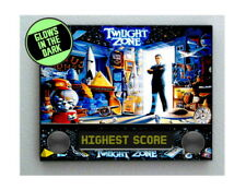 The Twilight Zone Pinball Backglass Glow In The Dark Framed Cool Art Mini Poster