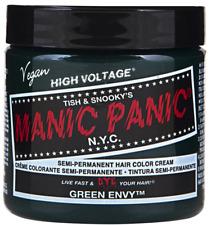 Manic Panic HIGH VOLTAGE Cream Semi-Permanent Vegan Hair Dye 4 oz - GREEN ENVY