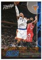 2016-17 Panini Prestige Basketball Stat Stars #12 Carmelo Anthony Knicks