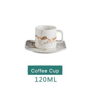 Water Cup Ceramic Tea Cup Saucer Set Porcelain Tea Cup Set Black Coffee Cup Set