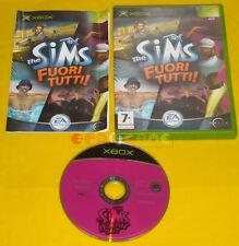 THE SIMS FUORI TUTTI XBOX 1 Versione Ufficiale Italiana »»» COMPLETO
