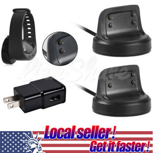 USB Charging Cable Charger Dock Station For Samsung Gear Fit 2/2Pro Smart Watch