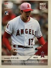 Topps Moment of the Week #6 ~ Shohei Ohtani ~ Rookie Sets Franchise Pitching rec