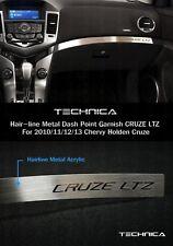 Dashboard Point Garnish Hair-line Metal LTZ Logo Fit CHEVROLET 2010-2014 Cruze