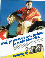 Publicite ADVERTISING 016 1985 michelin mxv tyres mxl