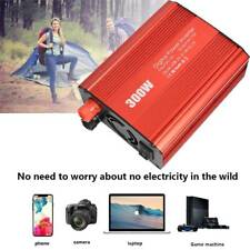 Digital 300W Car Power Inverter DC 12V to AC 110V Converter 2 USB Ports Lot USA