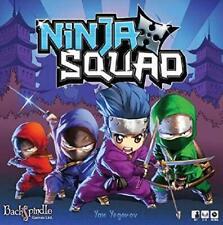 Ninja Squad Board Game Back Spindle Games Asmodee ASM BSG182