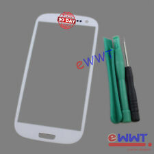 White Front Screen Cover Glass+Tools for Samsung Galaxy S3 Neo GT-i9301i ZVGS102