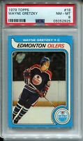1979 Topps Hockey #18 Wayne Gretzky Rookie Card RC Graded PSA NM Mint 8 '79