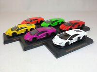 1:64 OEM Lamborghini Aventador LP720-4 50th Anniversario 6 Colors Set Dealer Ed.