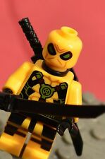 Marvel Super heroes Yellow DEADPOOL figure US Seller Free Ship