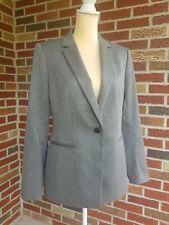 Banana Republic Gray Polka Dot Lined Blazer Jacket 10