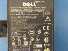 Dell F7970 65W-AC Power Supply Adapter Model PA-1650-05D2 Output: 19.5V DC 3.34A