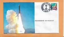 PEACEKEEPER MX-MISSILE LAUNCH MAR 8,2000 VANDENBERG AFB  SPACE COVER