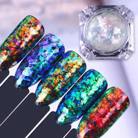 BORN PRETTY Chameleon Cloud Nail Glitter Sequins Flakes Paillette Powder Dust