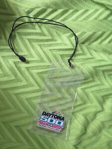 Nascar Daytona 500 Ticket Lanyard Holder