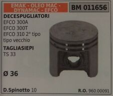 96000091 PISTONE COMPLETO TAGLIASIEPE EMAK OLEOMAC EFCO DYNAMAC TS 33 Ø 36