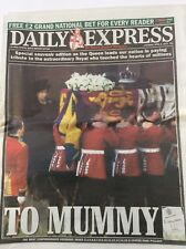 Newspaper - Daily Express - 06/04/2002 - 'Special Souvenir edition as the Queen'