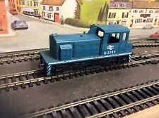 Lima HO Diesel Shunter D2785 in BR Blue Good Condition with Free P&P