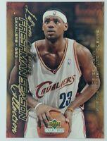 2003-04 Upper Deck Freshman Season Collection Lebron James Rookie RC #73, CAVS