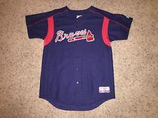 Atlanta Braves Batting Practice Spring Training Sewn/Stitched Jersey - Youth XL