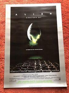 Alien Kinoplakat Poster A1, Directors Cut, Sigourney Weaver, Limitiert