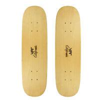 "Vintage NOS 2-PACK MPI Old School Skateboard Deck Wood Reverse Camber 7.75"""