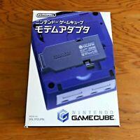 Nintendo GameCube official Modem adapter DOL-012(JPN) Black color GC from Japan