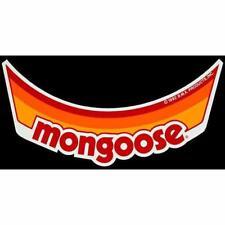 Mongoose Visor Decal - Orange