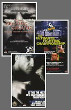 Historic Licensed UFC POSTERS 13x19 Reproduction Collection: #11, 12, 18 (1990s)