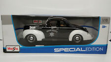 1939 Ford Deluxe Police - Maisto - 1/18 Diecast  - Special Edition