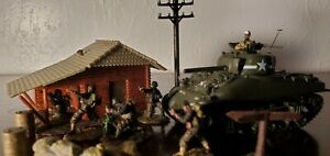 Unimax Forces of Valor 21st Century Toy Ultimate Soldiers diorama play 1:72 set