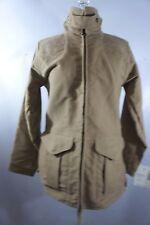NWT Filson 100% Cotton Shooting Jacket Women's Small Made In USA Camel moleskin