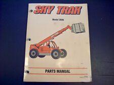 heavy equipment manuals books for skytrak for sale ebay rh ebay com