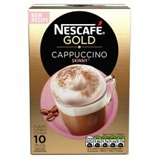 Nescafe Gold Cappuccino Skinny 10 sachets (145g Total) - At door 5 days or less