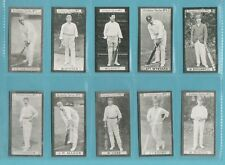 More details for cricket - nostalgia repros  (of clarke)- 10 sets of 30 clarke cricketers of 1901